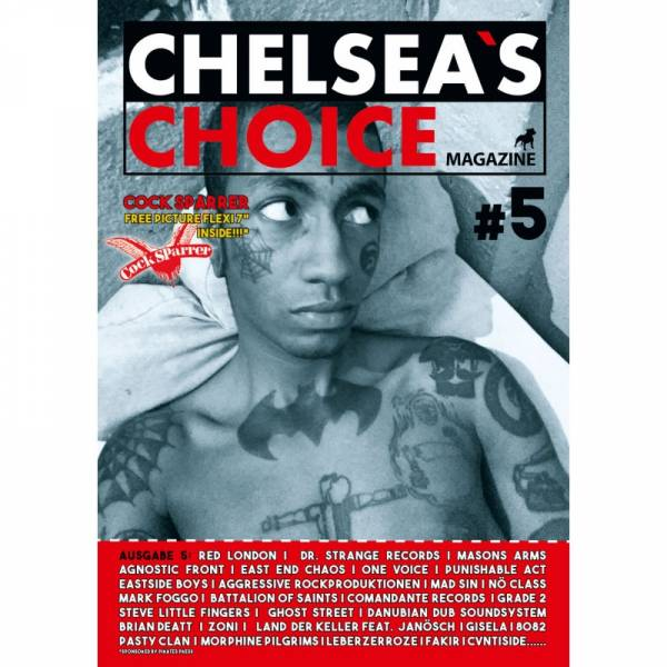 Chelsea's Choice No. 5, Fanzine A4 + FLEXI