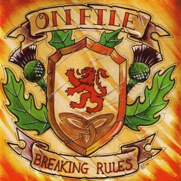 On File - Breaking Rules, CD