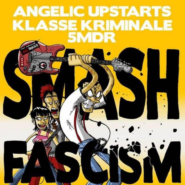 V/A Smash Fascism, 7'' schwarz