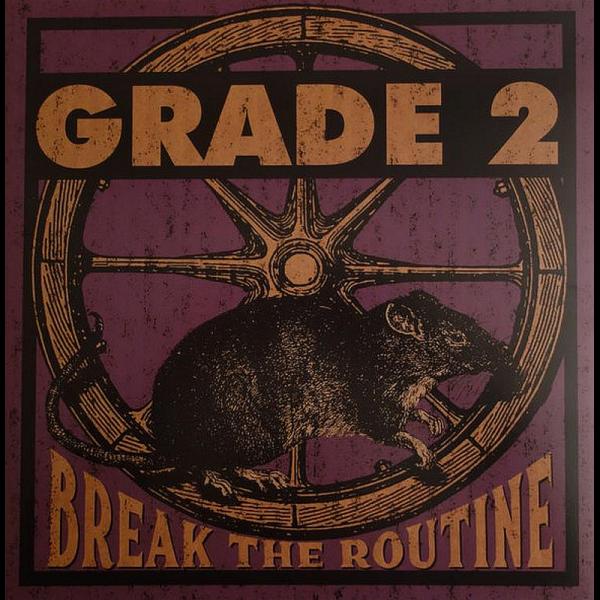 Grade 2 - Break the routine, LP 2. Pressung lim. verschiedene Farben
