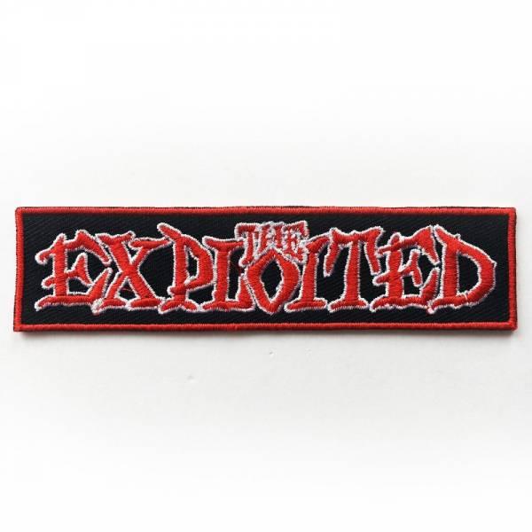 Exploited - Logo, Aufnäher