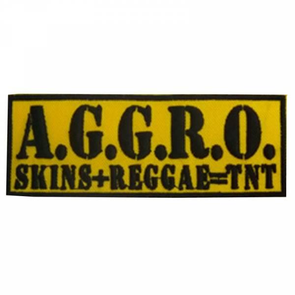 A.G.G.R.O. - Skins Reggae TNT, Aufnäher