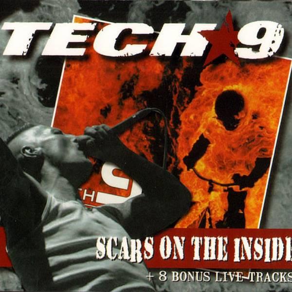 Tech 9 – Scars on the inside + 8 Bonus Live Tracks, CD Digipack