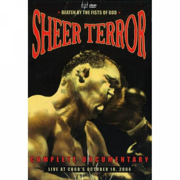Sheer Terror - Beaten by the fists of god, DVD + CD