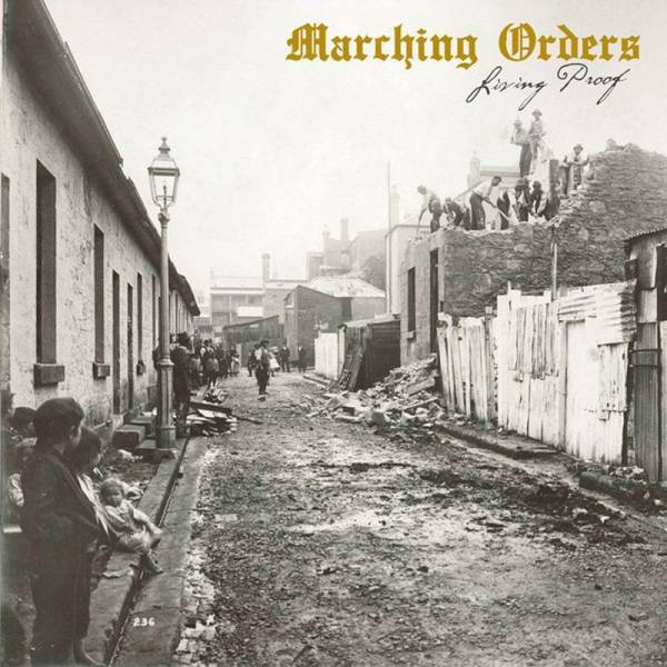 Marching Orders - Living Proof, CD Digipack limitiert