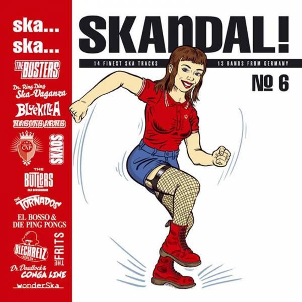 V/A Ska, Ska Skandal - No. 6, Cd