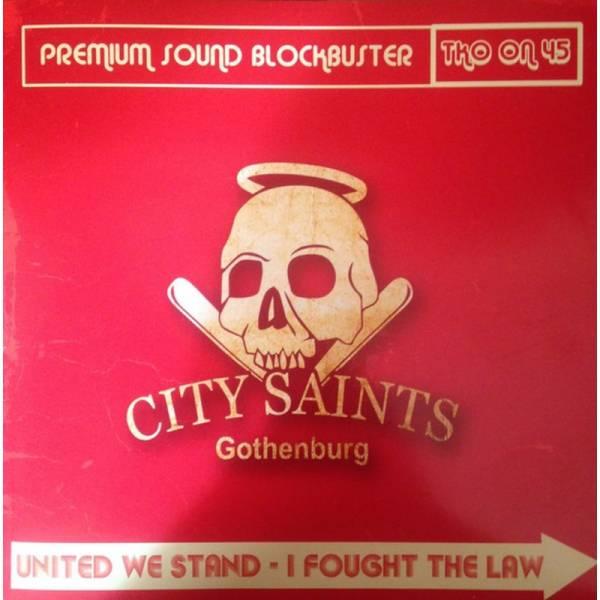 City Saints / Oldfashioned Ideas, 7'' lim. verschiedene Cover