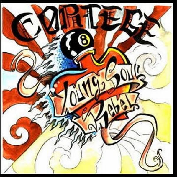Cortége - Young Soul Rebel, 7'' lim. 500 schwarz
