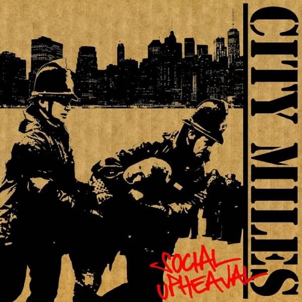 City Miles - Social Upheaval, CD lim. 500