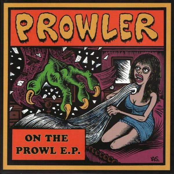 Prowler - On the Prowl E.P., 7'' lim. 300 grün