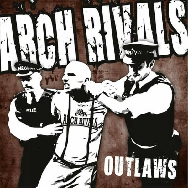 Arch Rivals - Outlaws, 7'' schwarz