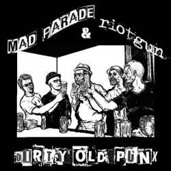 "Mad Parade / Riotgun - Dirty old Punx, 7"" lim. 400 tricolor"