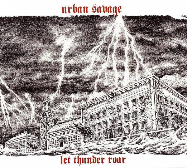 Urban Savage - Let thunder roar, CD Digipack