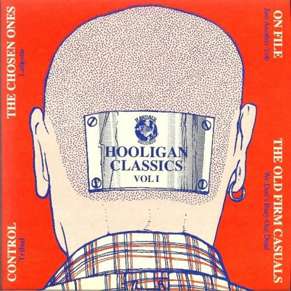"V/A Hooligan Classics Vol. 1, Do7"" + Klappcover, schwarz"