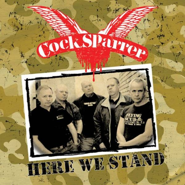 Cock Sparrer - Here we stand, CD + DVD Digipack