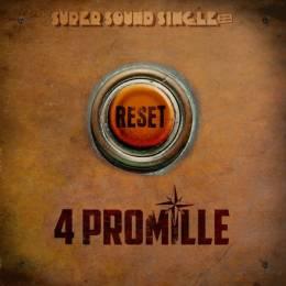 4 Promille - Reset, 12'' Maxi EP verschiedene Farben