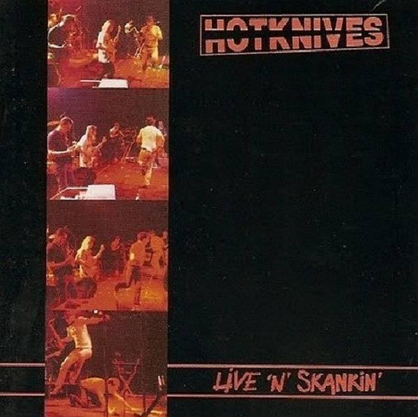 Hotknives, The - Live 'n' Skankin', LP schwarz