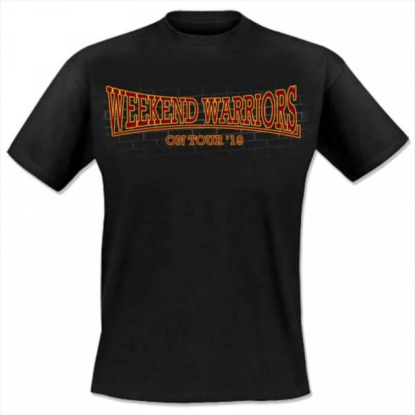 Weekend Warriors - Tour 2019, T-Shirt schwarz