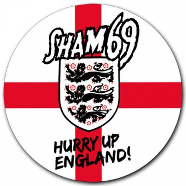 Sham 69 - Hurry up England, Aufkleber