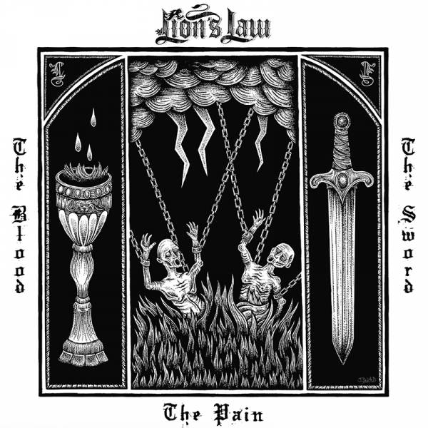 Lion's Law - The pain, the blood and the sword, CD