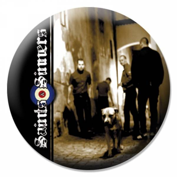 Saints & Sinners - Band, Button B106