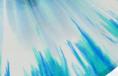weiß/blau/grün splatter