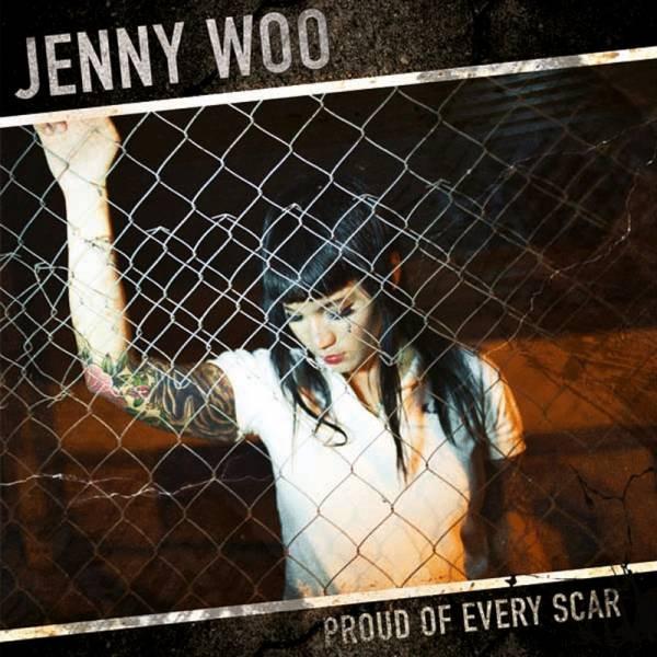 Jenny Woo - Proud of every scar, LP verschiedene Farben