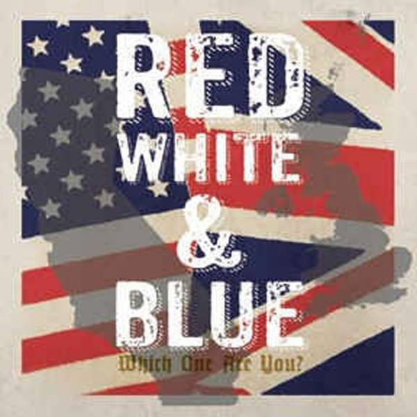 "V/A Red, White & Blue - Split, Do7"" lim. verschiedene Farben"