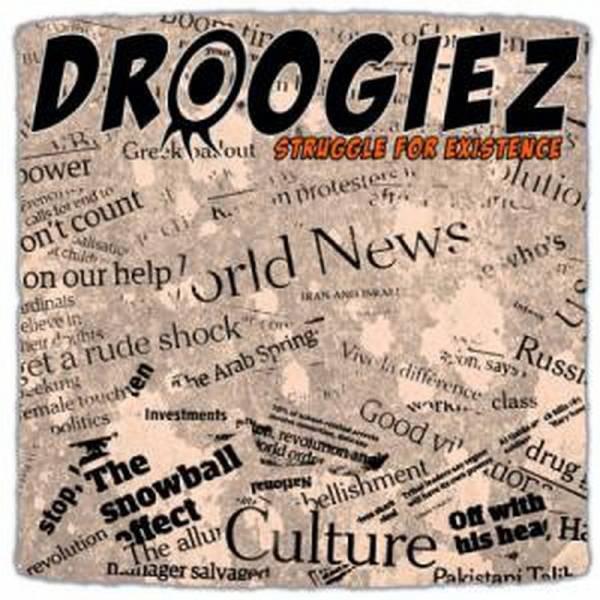 "Droogiez - Struggle For Existence, 10"" lim. 300 versch. Farben"