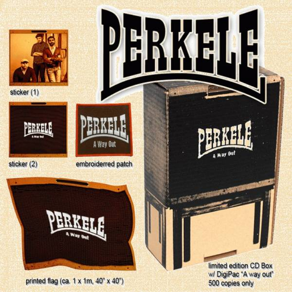 Perkele - A way out, CD Box lim. 500