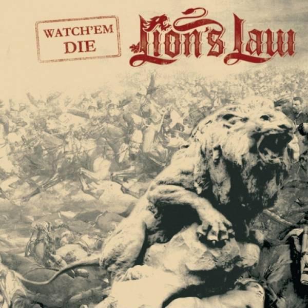 Lion's Law - Watch' em die, 7'' 1. Pressung lim. verschiedene Farben