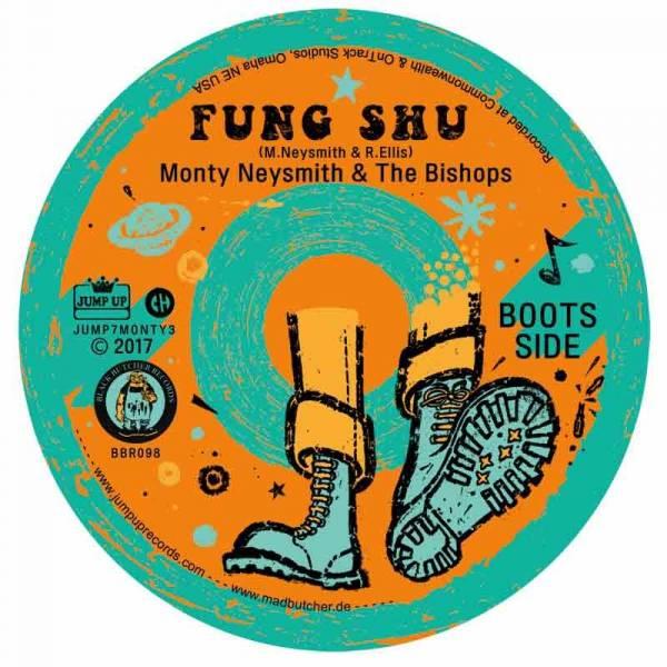 Monty Newsmith & The Bishops - Skinflint / Fung Shu, EP 7'' schwarz lim. 400