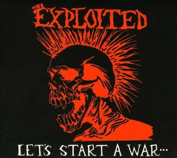 Exploited, The - Let's start a war..., CD Digipack