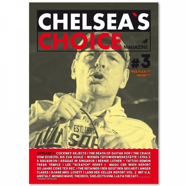 Chelsea's Choice No. 3, Fanzine A4 + FLEXI