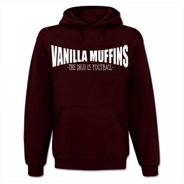 Vanilla Muffins - The drug is football, Kapuzen-Pullover bordeaux
