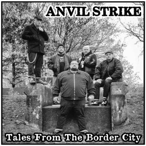 "Anvil Strike ‎– Tales from the border city, 7"" transparent lim. 250"
