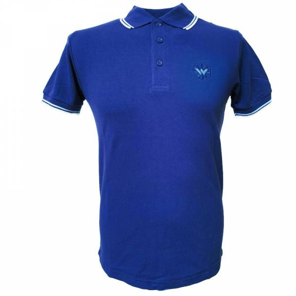 Warrior - Classic, Poloshirt cobald blau/himmel blau