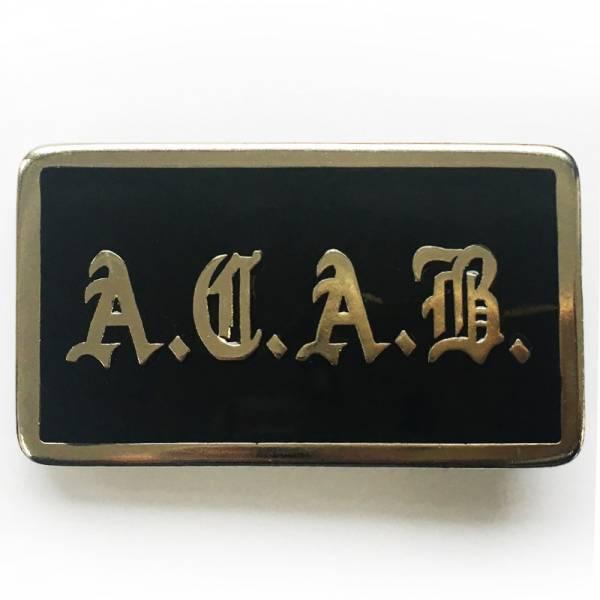 A.C.A.B. - Fraktur, Gürtelschnalle