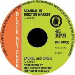 """Laurel Aitken - Scandal in Brixton Market/Soul Jerker, 7"""""""