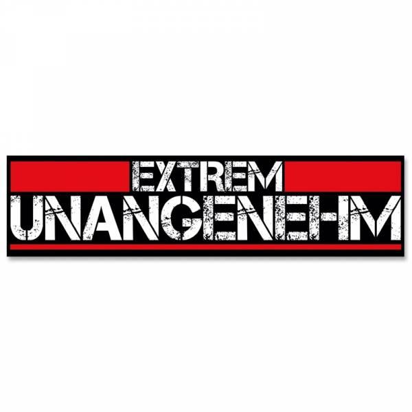 Extrem Unangenehm - Logo, Aufkleber
