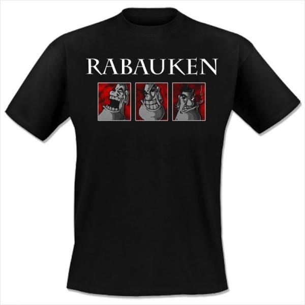 Rabauken - All die Jahre, T-Shirt Oi! The Shop EXKLUSIV