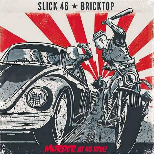 Slick 46 / Bricktop - Murder at 45 RPM!, 7'' schwarz
