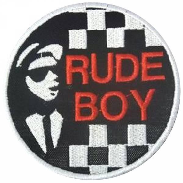 Ska - Rudeboy, Aufnäher