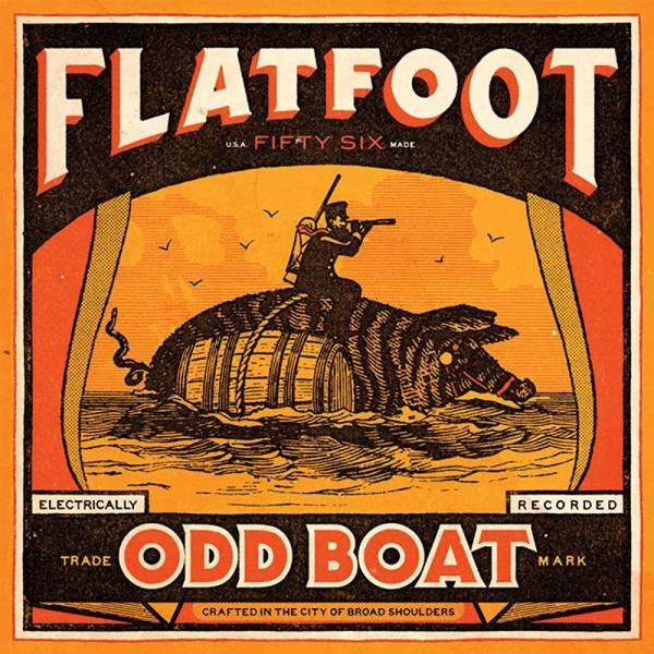 Flatfoot 56 - Odd Boat, CD Digipack