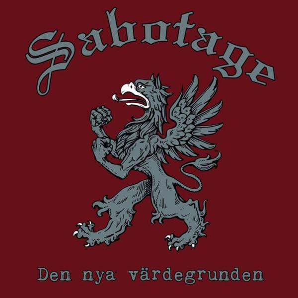 """Sabotage - Den nya värdegrunden, 10"""" lim. 500 schwarz"""