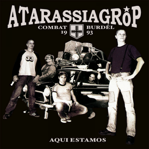 Atarassia Gröp - Aqui estamos, LP schwarz