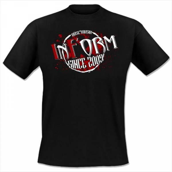 InForm - Ich mache was ich will, T-Shirt schwarz