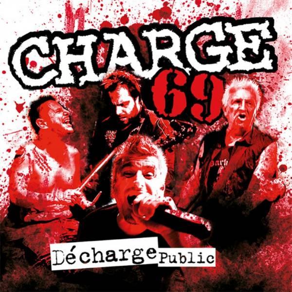 Charge 69 - Décharge Public, CD Digipack lim. 1000 + Aufnäher