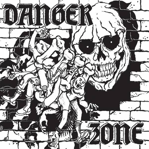"""Danger Zone – Danger Stomp, 7"""" lim. 90 Cover SKULL"""
