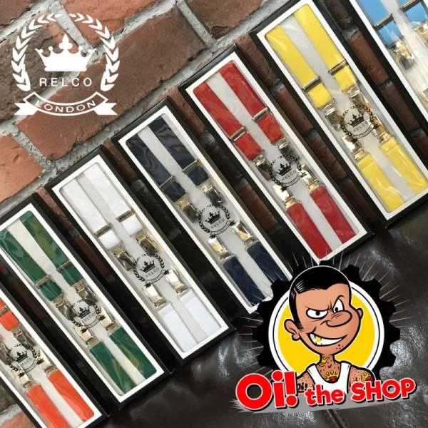 RELCO Clothing - Half Inch / 13mm Hosenträger, verschiedene Farben